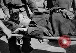 Image of wounded Allied soldiers Monte Cassino Italy, 1944, second 40 stock footage video 65675072377