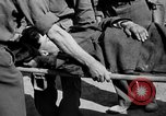 Image of wounded Allied soldiers Monte Cassino Italy, 1944, second 41 stock footage video 65675072377