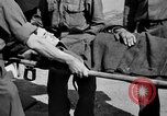 Image of wounded Allied soldiers Monte Cassino Italy, 1944, second 42 stock footage video 65675072377