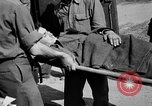 Image of wounded Allied soldiers Monte Cassino Italy, 1944, second 43 stock footage video 65675072377