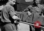 Image of wounded Allied soldiers Monte Cassino Italy, 1944, second 44 stock footage video 65675072377