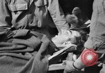 Image of wounded Allied soldiers Monte Cassino Italy, 1944, second 51 stock footage video 65675072377