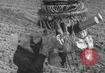 Image of Japanese paper bomb balloon Pacific Theater, 1945, second 36 stock footage video 65675072436