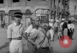 Image of civilians wait for streetcar Hiroshima Japan, 1946, second 35 stock footage video 65675072450