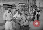 Image of civilians wait for streetcar Hiroshima Japan, 1946, second 38 stock footage video 65675072450