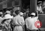 Image of civilians wait for streetcar Hiroshima Japan, 1946, second 43 stock footage video 65675072450