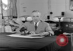Image of Harry S Truman announcing the use of an atomic bomb California USA, 1945, second 48 stock footage video 65675072459