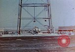 Image of Hoisting of Gadget atomic bomb before Trinity nuclear test Alamogordo New Mexico USA, 1945, second 2 stock footage video 65675072463
