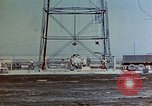 Image of Hoisting of Gadget atomic bomb before Trinity nuclear test Alamogordo New Mexico USA, 1945, second 6 stock footage video 65675072463