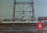 Image of Hoisting of Gadget atomic bomb before Trinity nuclear test Alamogordo New Mexico USA, 1945, second 7 stock footage video 65675072463
