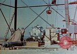 Image of Hoisting of Gadget atomic bomb before Trinity nuclear test Alamogordo New Mexico USA, 1945, second 11 stock footage video 65675072463