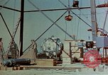 Image of Hoisting of Gadget atomic bomb before Trinity nuclear test Alamogordo New Mexico USA, 1945, second 12 stock footage video 65675072463