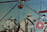 Image of Hoisting of Gadget atomic bomb before Trinity nuclear test Alamogordo New Mexico USA, 1945, second 17 stock footage video 65675072463