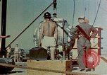 Image of Hoisting of Gadget atomic bomb before Trinity nuclear test Alamogordo New Mexico USA, 1945, second 22 stock footage video 65675072463