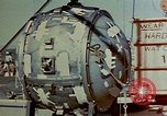 Image of Hoisting of Gadget atomic bomb before Trinity nuclear test Alamogordo New Mexico USA, 1945, second 34 stock footage video 65675072463