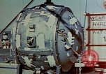 Image of Hoisting of Gadget atomic bomb before Trinity nuclear test Alamogordo New Mexico USA, 1945, second 37 stock footage video 65675072463