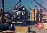 Image of Hoisting of Gadget atomic bomb before Trinity nuclear test Alamogordo New Mexico USA, 1945, second 38 stock footage video 65675072463