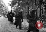 Image of United States 75th infantry advance Commanster Belgium, 1945, second 31 stock footage video 65675072472
