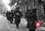 Image of United States 75th infantry advance Commanster Belgium, 1945, second 33 stock footage video 65675072472