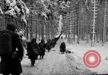 Image of United States 75th infantry advance Commanster Belgium, 1945, second 34 stock footage video 65675072472