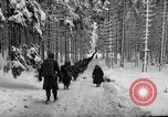 Image of United States 75th infantry advance Commanster Belgium, 1945, second 37 stock footage video 65675072472