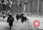 Image of United States 75th infantry advance Commanster Belgium, 1945, second 41 stock footage video 65675072472