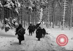 Image of United States 75th infantry advance Commanster Belgium, 1945, second 42 stock footage video 65675072472