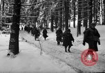 Image of United States 75th infantry advance Commanster Belgium, 1945, second 51 stock footage video 65675072472
