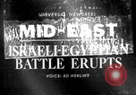 Image of Arab-Israeli Six Day War erupts Middle East, 1967, second 1 stock footage video 65675072476