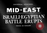 Image of Arab-Israeli Six Day War erupts Middle East, 1967, second 4 stock footage video 65675072476