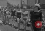 Image of grandmothers bathing beauty contest New York City USA, 1967, second 5 stock footage video 65675072481