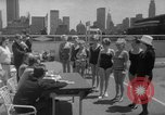 Image of grandmothers bathing beauty contest New York City USA, 1967, second 28 stock footage video 65675072481