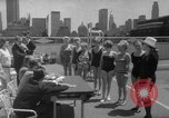Image of grandmothers bathing beauty contest New York City USA, 1967, second 29 stock footage video 65675072481