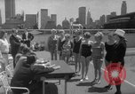 Image of grandmothers bathing beauty contest New York City USA, 1967, second 30 stock footage video 65675072481