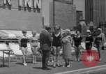 Image of grandmothers bathing beauty contest New York City USA, 1967, second 35 stock footage video 65675072481