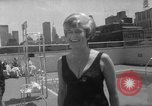 Image of grandmothers bathing beauty contest New York City USA, 1967, second 43 stock footage video 65675072481