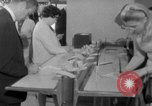 Image of civilians purchase lottery tickets New York City USA, 1967, second 24 stock footage video 65675072485