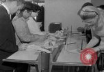 Image of civilians purchase lottery tickets New York City USA, 1967, second 26 stock footage video 65675072485
