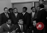 Image of Cassius Clay draft Vietnam War Cleveland Ohio USA, 1967, second 29 stock footage video 65675072489
