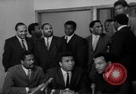 Image of Cassius Clay draft Vietnam War Cleveland Ohio USA, 1967, second 30 stock footage video 65675072489