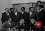 Image of Cassius Clay draft Vietnam War Cleveland Ohio USA, 1967, second 31 stock footage video 65675072489