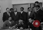 Image of Cassius Clay draft Vietnam War Cleveland Ohio USA, 1967, second 32 stock footage video 65675072489