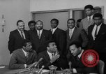 Image of Cassius Clay draft Vietnam War Cleveland Ohio USA, 1967, second 33 stock footage video 65675072489