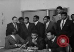 Image of Cassius Clay draft Vietnam War Cleveland Ohio USA, 1967, second 36 stock footage video 65675072489