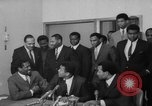 Image of Cassius Clay draft Vietnam War Cleveland Ohio USA, 1967, second 37 stock footage video 65675072489