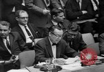 Image of United Nations Security Council New York United States USA, 1967, second 29 stock footage video 65675072502