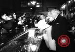 Image of bank converted into bar at end of Prohibition Chicago Illinois USA, 1933, second 17 stock footage video 65675072515