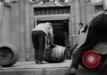 Image of bank converted into bar at end of Prohibition Chicago Illinois USA, 1933, second 26 stock footage video 65675072515