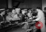 Image of bank converted into bar at end of Prohibition Chicago Illinois USA, 1933, second 35 stock footage video 65675072515