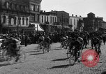 Image of 60 mile bicycle race Chicago Illinois USA, 1936, second 13 stock footage video 65675072520